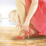 100均グッズでヒールの高い靴を履いても足が痛くならない方法