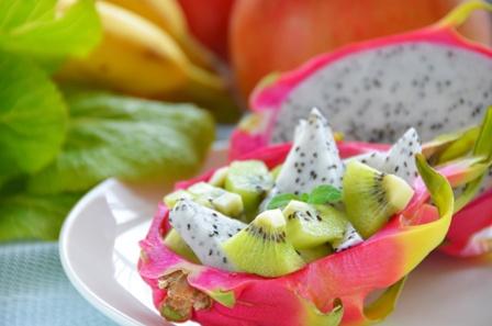 ドラゴンフルーツの美容効果抜群な食べ方
